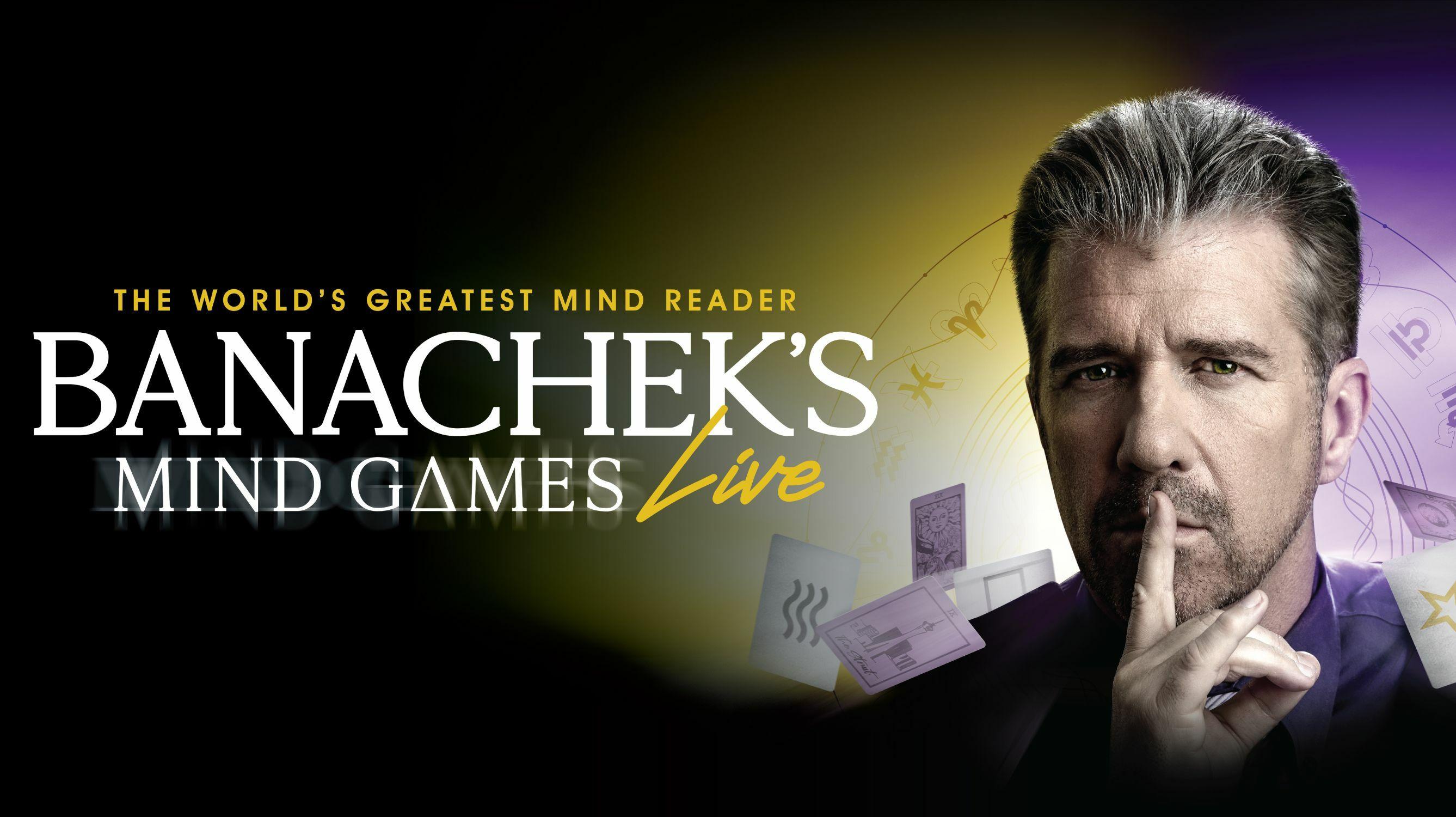 """""""Banachek's Mind Games"""""""