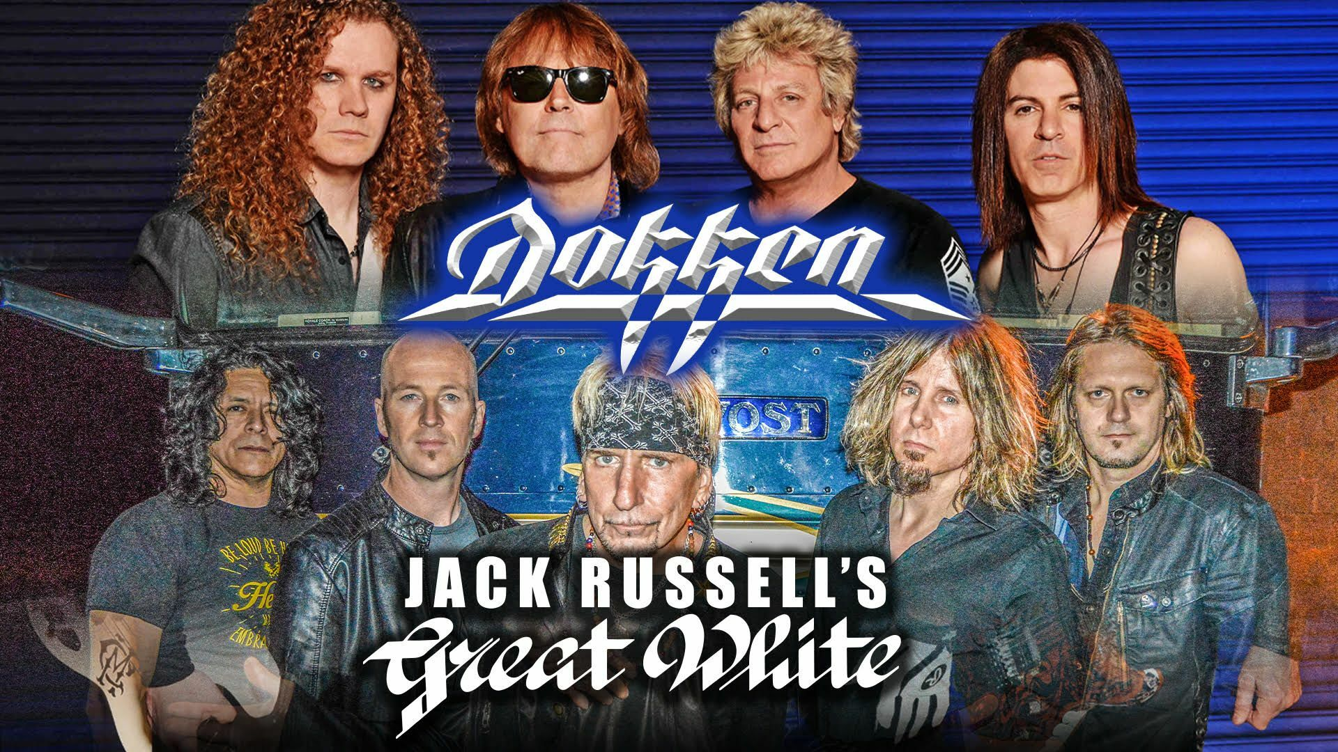 Dokken and Jack Russell's Great White