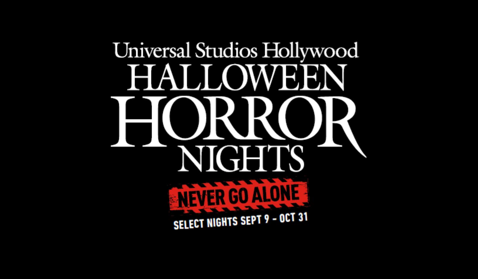 Universal Studios Hollywood™ Halloween Horror Nights™