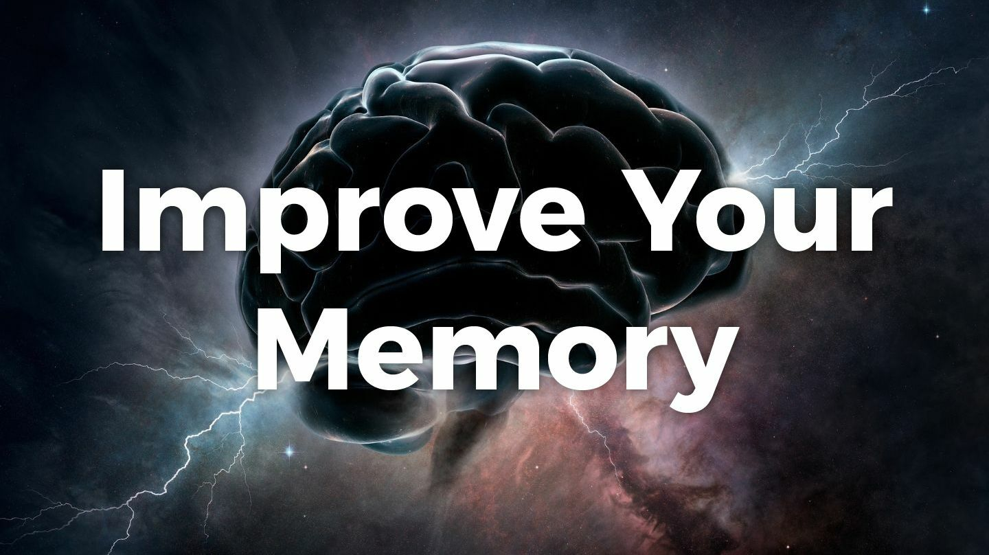 Improve Your Memory -- Online