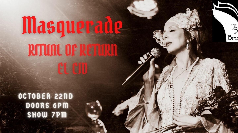 LA Poetry Brothel Masquerade: Ritual of Return