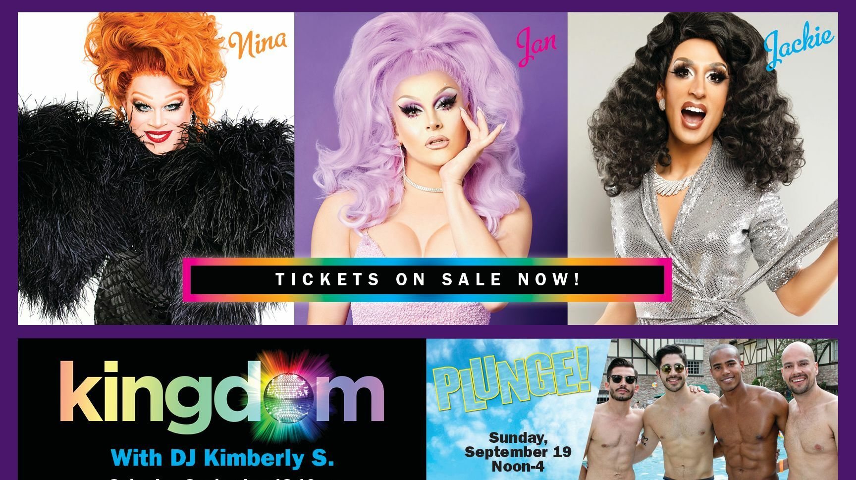 Gay Days Anaheim VIP Silver Pass Featuring Jackie Cox and Nina West