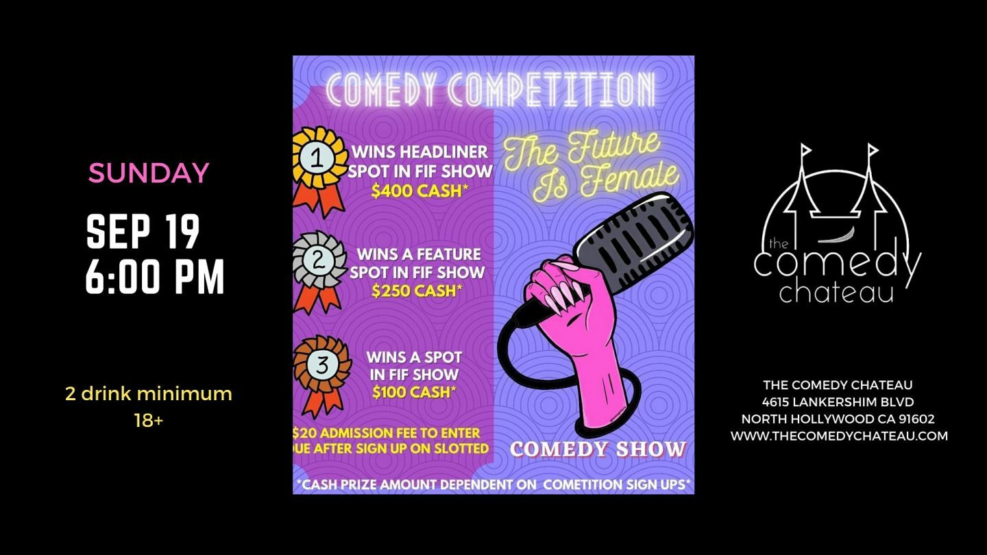 FIF Comedy Competition Finals at the Comedy Chateau