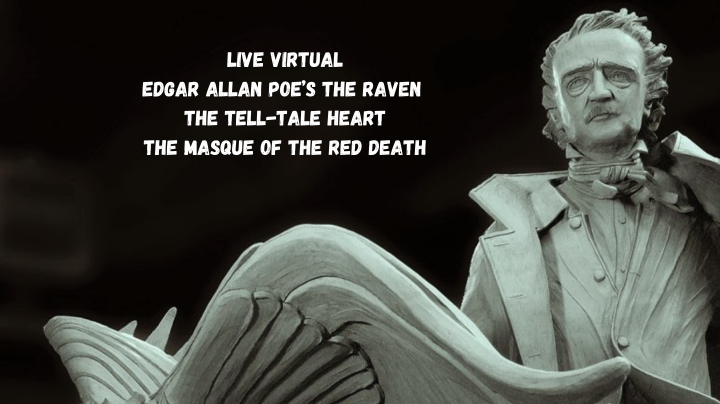 """Edgar Allan Poe's """"The Raven,"""" """"The Tell-tale Heart,"""" """"The Masque of the Red Death"""" -- Online"""