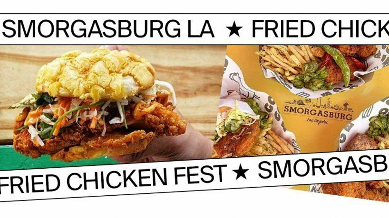 Santa Anita Park's Smorgasburg Fried Chicken Day