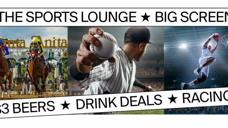 Santa Anita Park's Sports Lounge in Sirona's