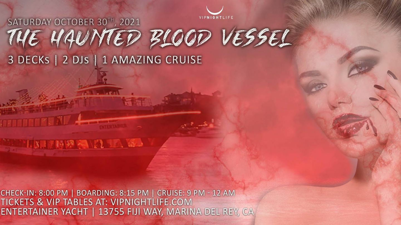 Marina Del Rey Halloween Haunted Blood Vessel Cruise