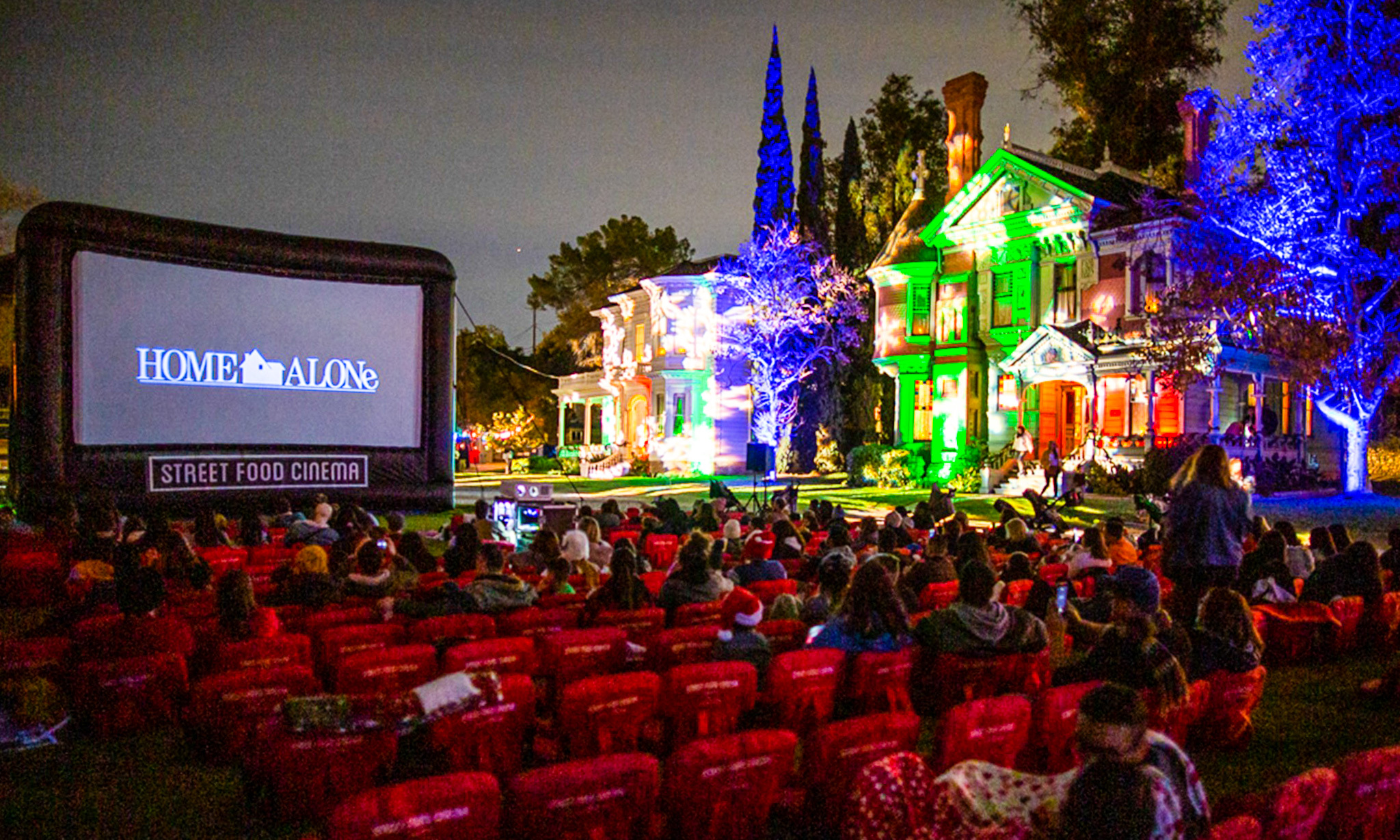 Yuletide Cinemaland from Street Food Cinema