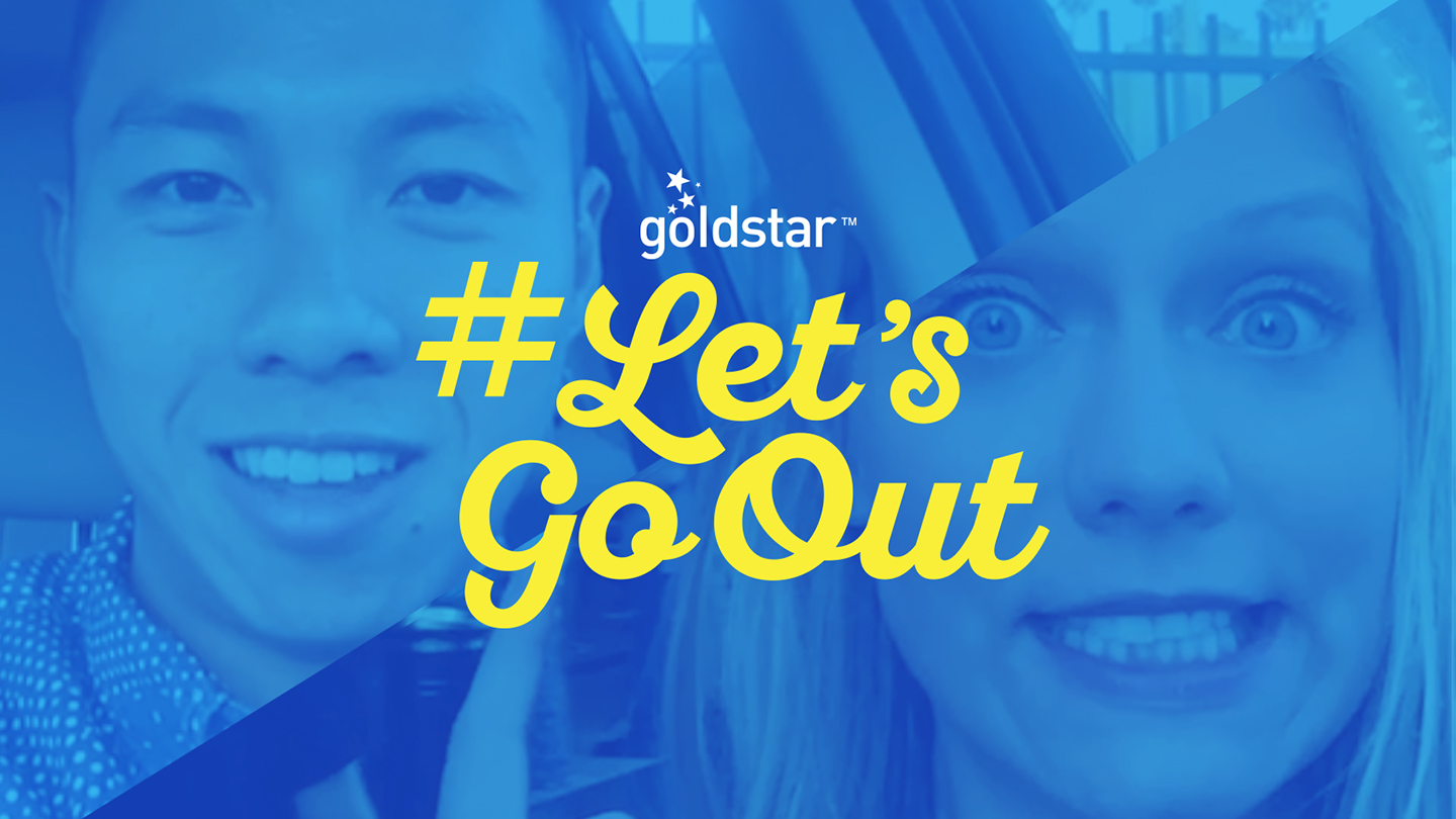 #Let'sGoOut Goldstar