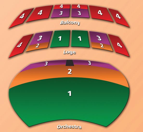 Seating Chart Long Beach