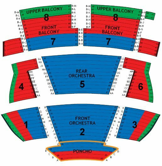 blue man group orlando seating chart: Blue man theatre las vegas tickets schedule seating charts