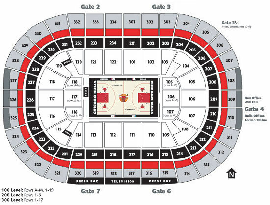 United center chicago il tickets schedule seating charts goldstar