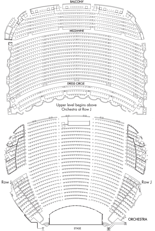 Boston opera house boston tickets schedule seating charts goldstar