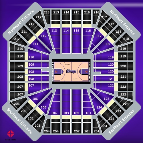 Sleep train arena sacramento tickets schedule seating charts