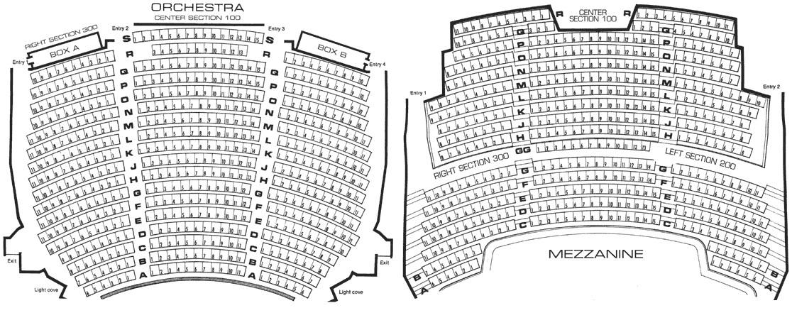 Walnut street theatre philadelphia tickets schedule seating