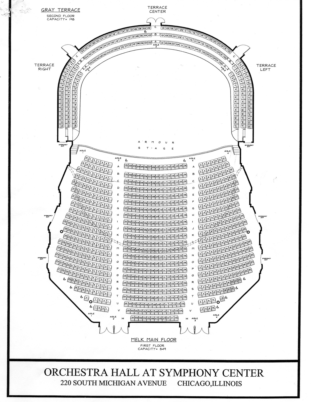 Chicago symphony center chicago tickets schedule seating