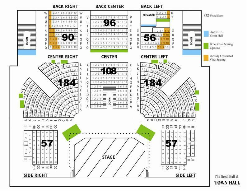 Town hall seattle great hall seattle tickets schedule seating
