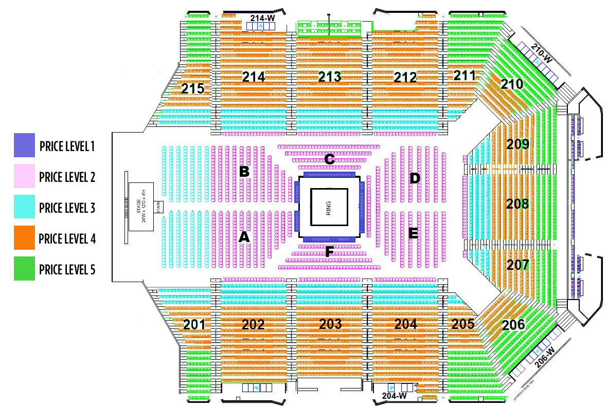 seating charts. grand canyon university arena phoenix tickets schedule seating