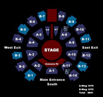 Celebrity theatre phoenix az tickets schedule seating charts