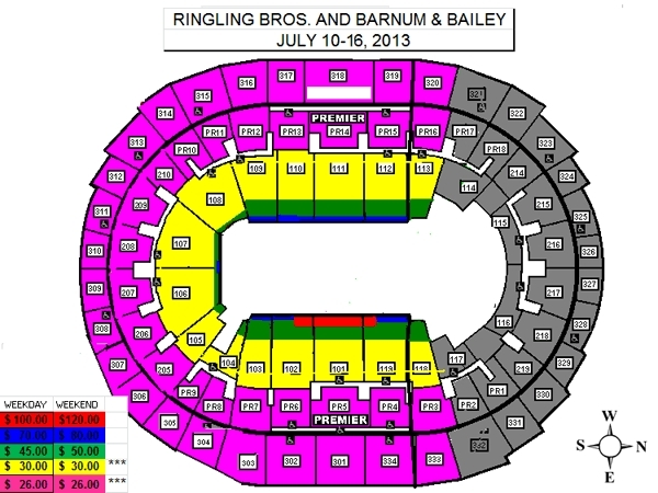 STAPLES Center, Los Angeles: Tickets, Schedule, Seating Charts ...