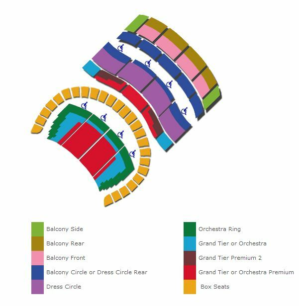Sf Memorial Opera House Seating Chart – War Memorial Opera House Seating Plan