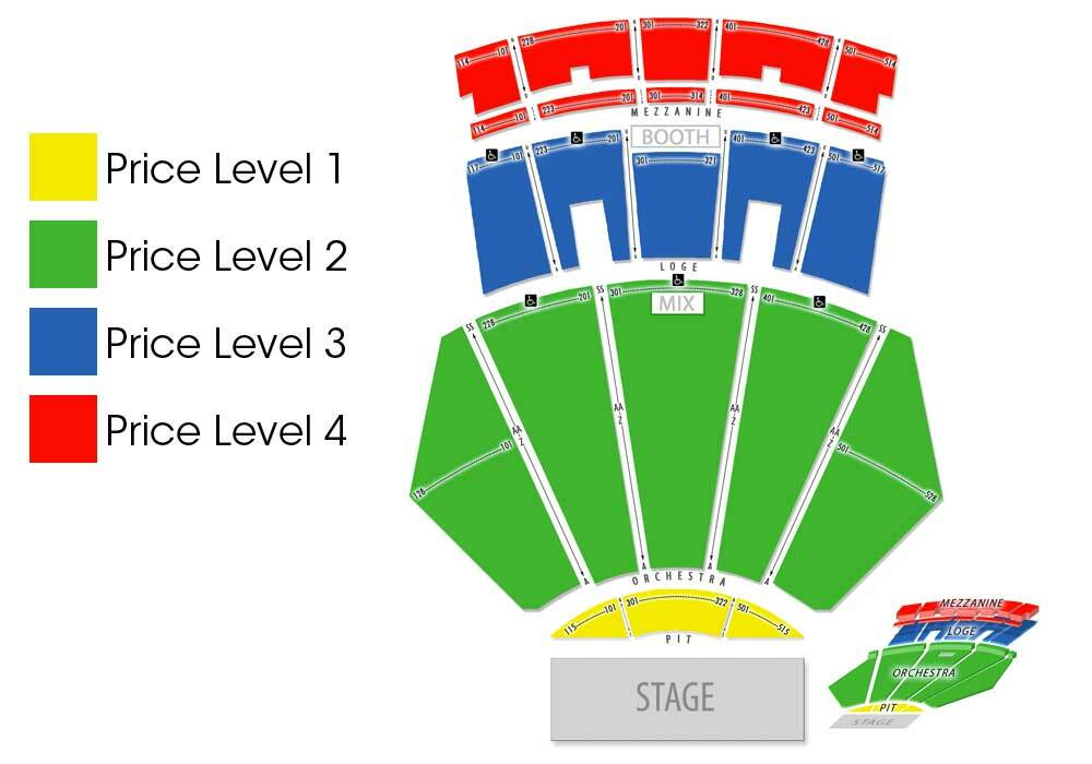 Microsoft theater los angeles tickets schedule seating charts