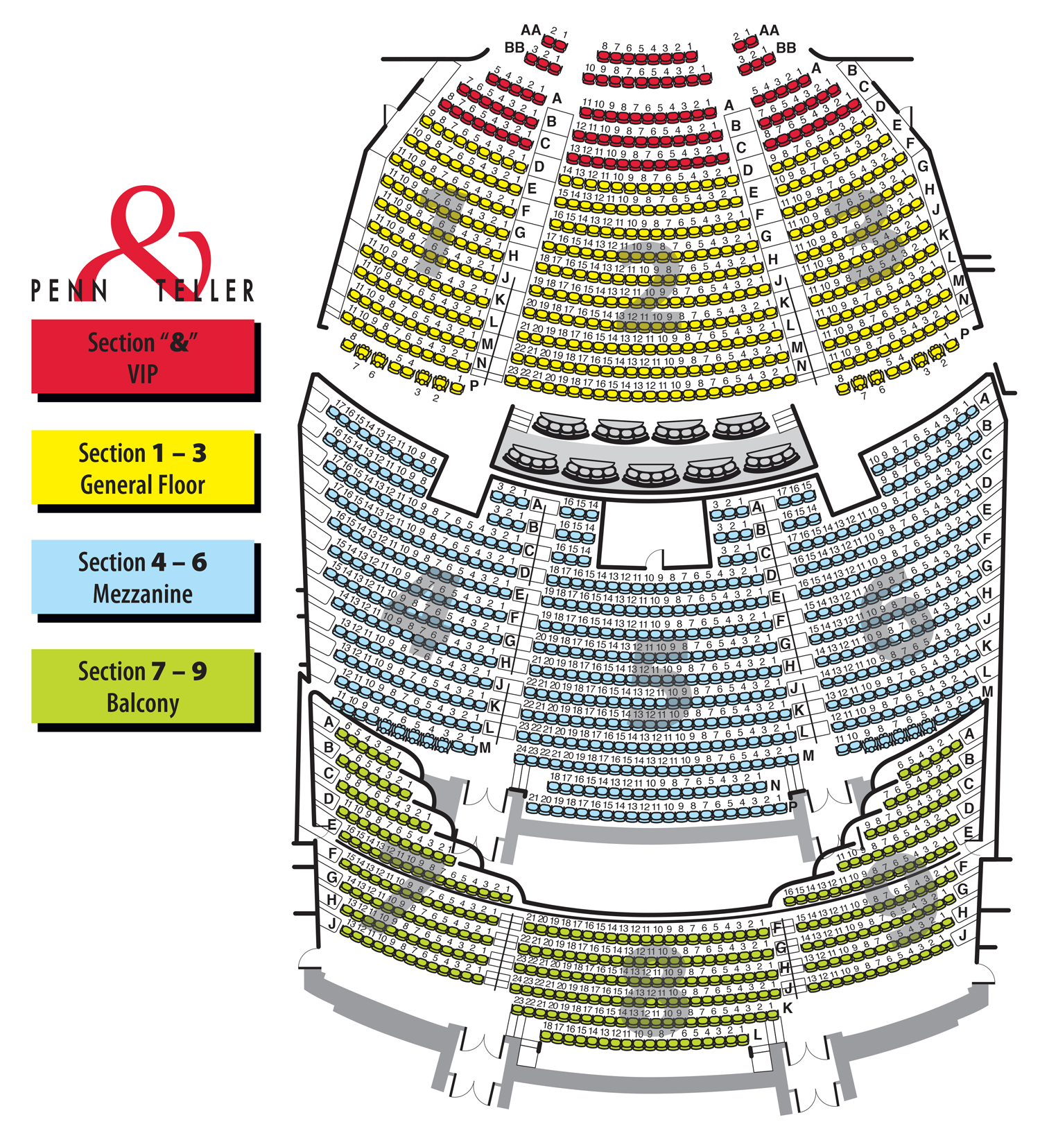 Penn teller theater at the rio las vegas nv tickets schedule