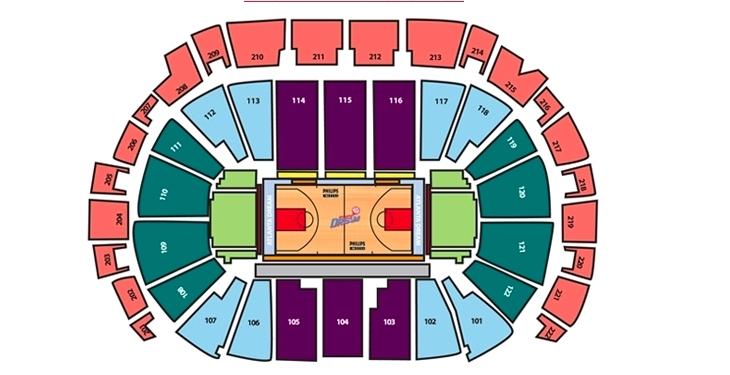 Philips Arena, Atlanta: Tickets, Schedule, Seating Charts | Goldstar
