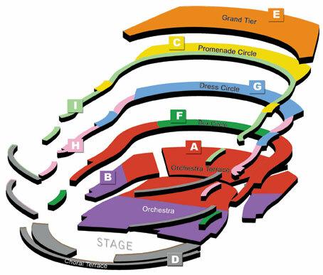 Concert Hall Seating Chart