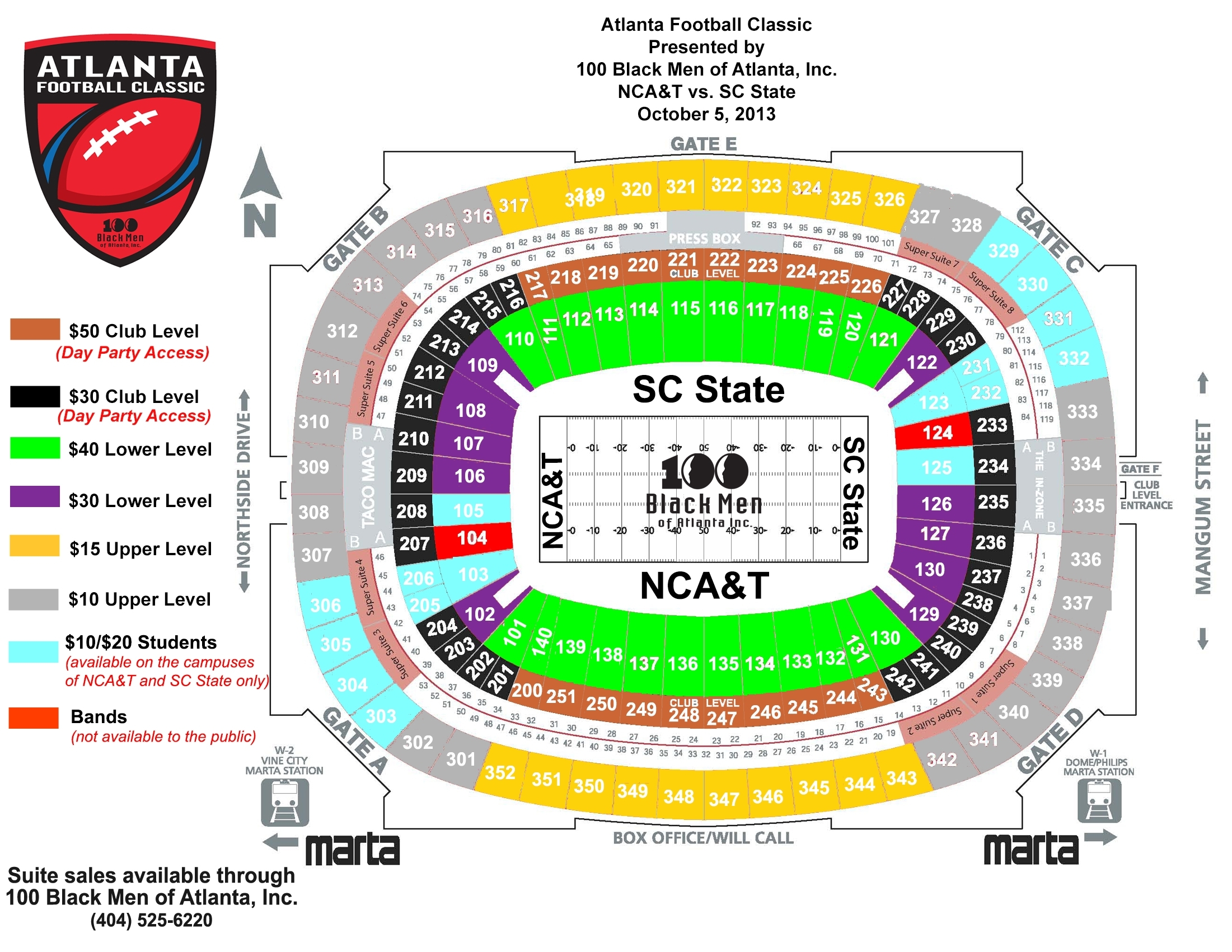 Georgia dome atlanta ga tickets schedule seating charts goldstar