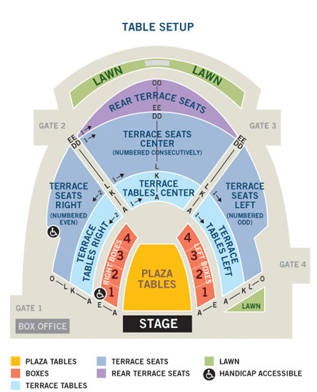 Chastain park amphitheatre atlanta tickets schedule seating