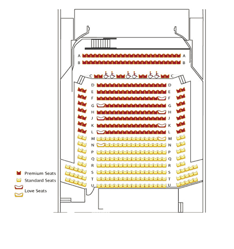 Uptown theater dallas fort worth tickets schedule seating