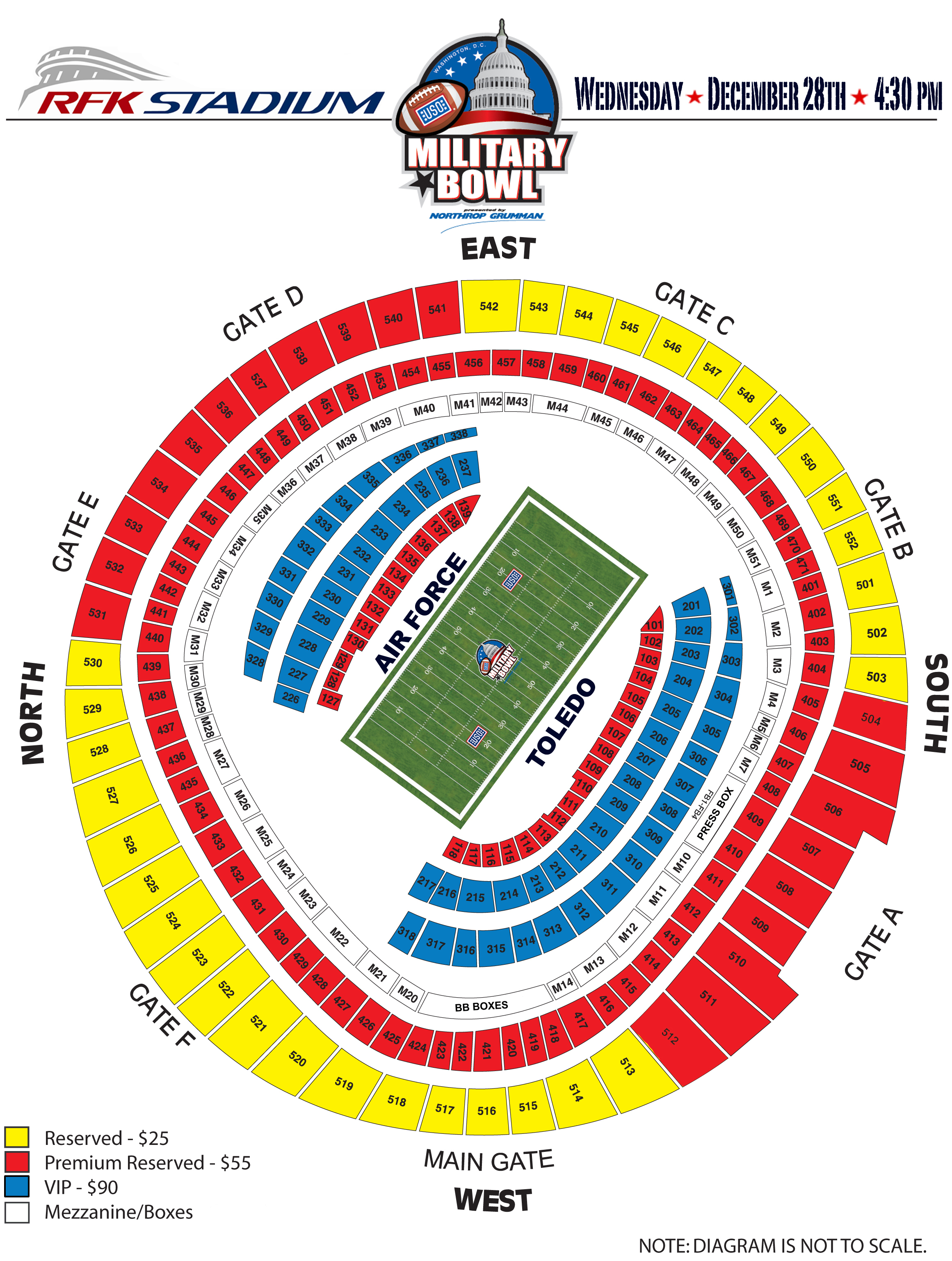 Rfk stadium washington d c tickets schedule seating charts