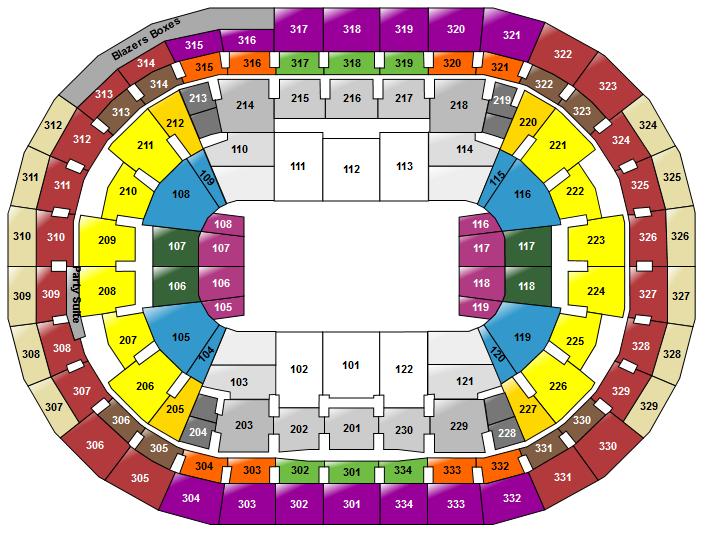Portland blazers seating chart ibov jonathandedecker com