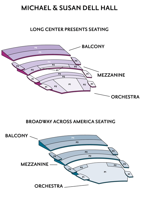 long center seating chart