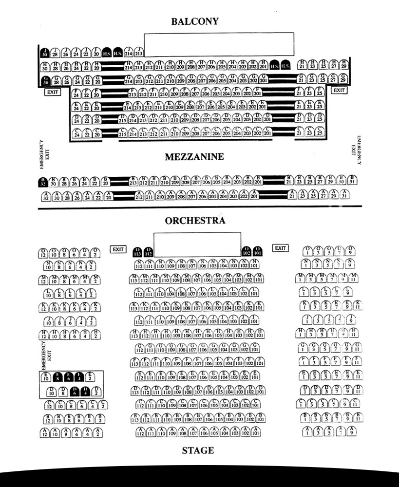 Victoria Theatre, San Francisco: Tickets, Schedule, Seating Charts ...