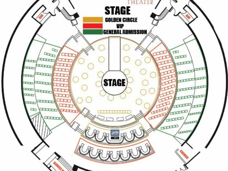 Duck Commander Musical Seating Chart