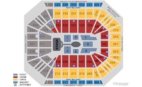 Dcu center boston tickets schedule seating charts goldstar