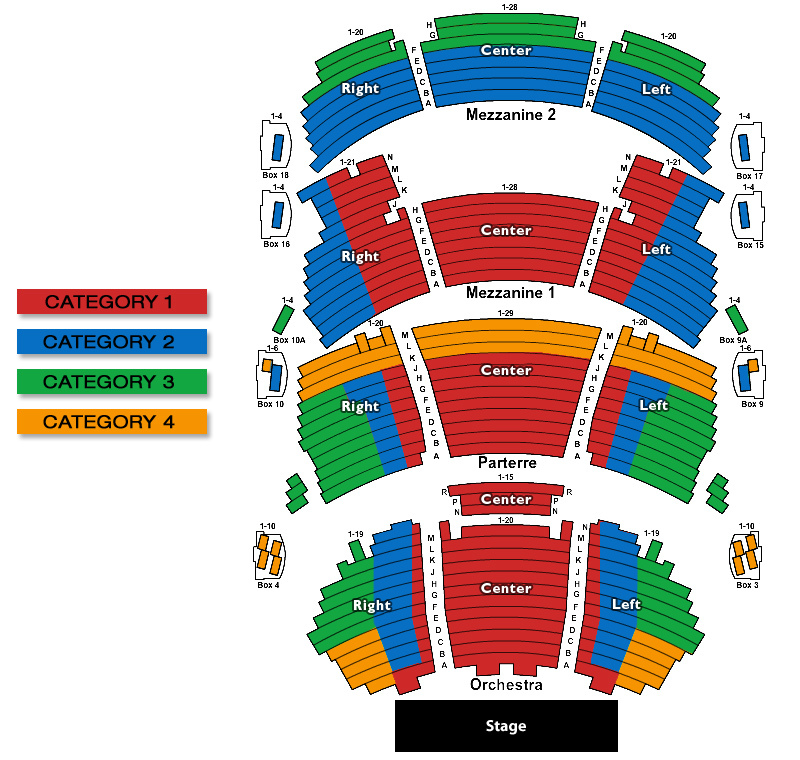 Dolby theatre los angeles tickets schedule seating charts