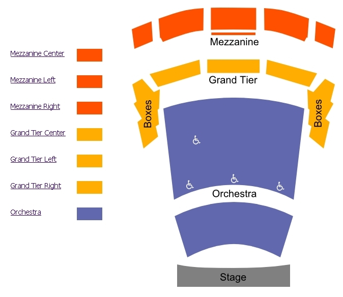 jones hall seating chart houston symphony: Jones hall for the performing arts houston tickets schedule