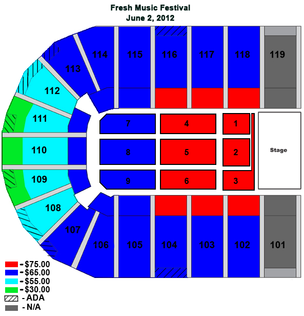 Orleans casino arena seating chart bicycle casino pc game download