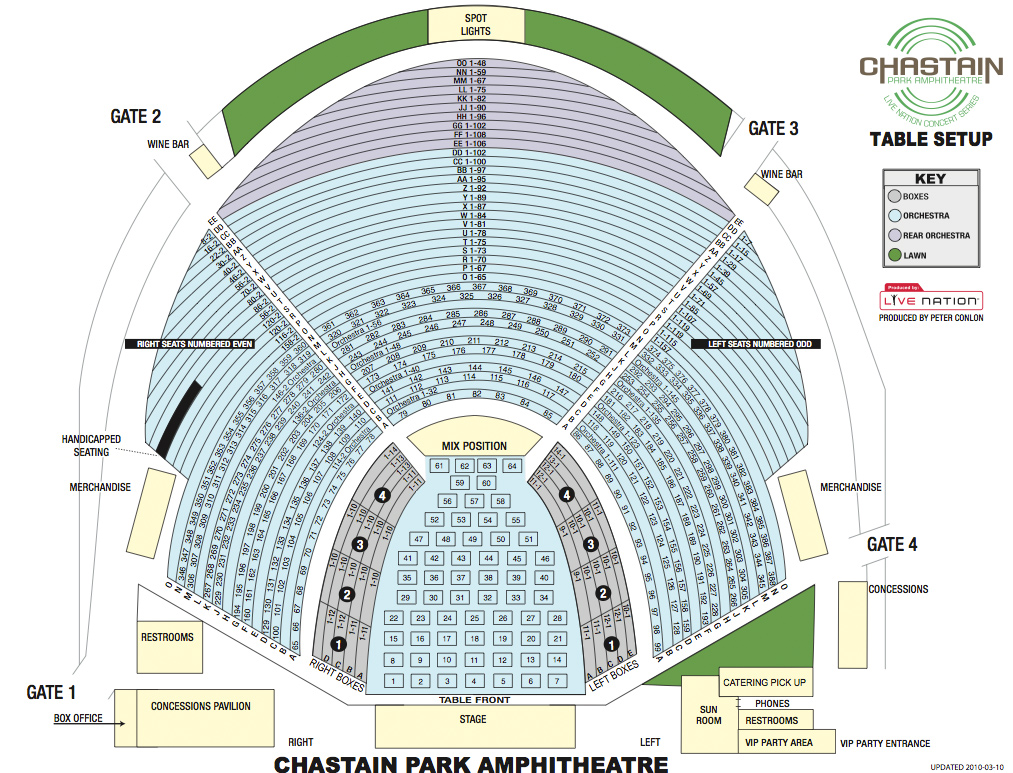 State Bank Hitheatre At Chastain Park Atlanta Tickets Schedule. Seating Charts Chastain Table Setup Reserved Park 2012. Seat. Chastain Park Seating Diagram At Scoala.co