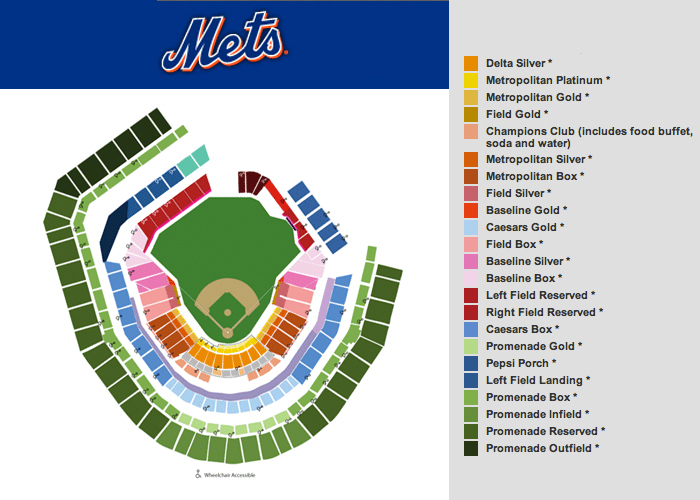 Citi Field, New York: Tickets, Schedule, Seating Charts | Goldstar