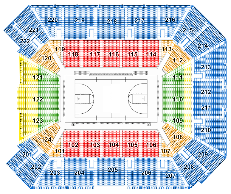 Galen center at usc los angeles tickets schedule seating charts