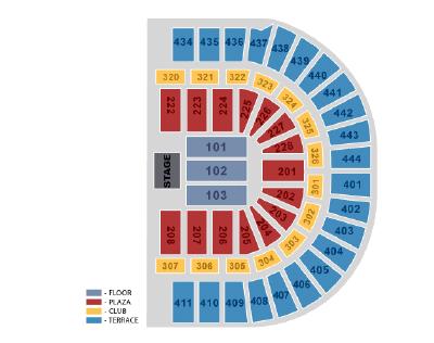 ... Tennis Seating Chart · Harlem Globetrotters · Honda Center Concert 2015  ...