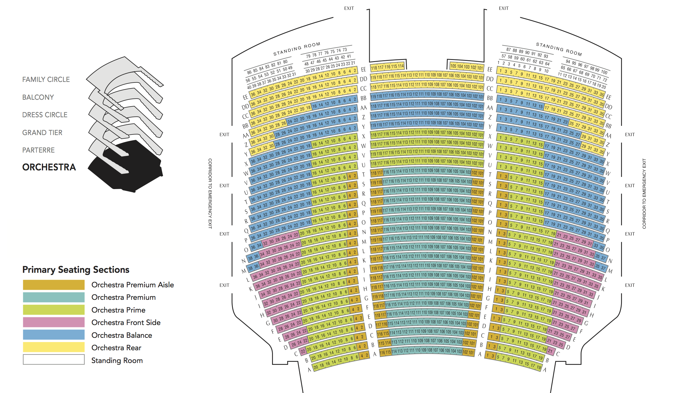 Met opera seating chart detailed www microfinanceindia org