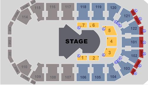 Quidam Seating Chart Varekai Cedar Park Center