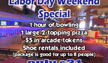 Concourse labor day weekend special for goldstar