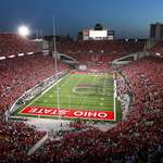 Ohio stadium night